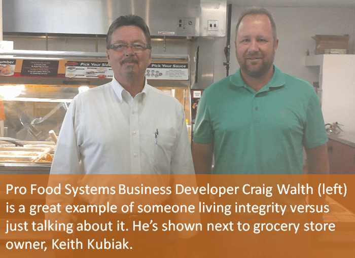 Craig Walth of Pro Food Systems