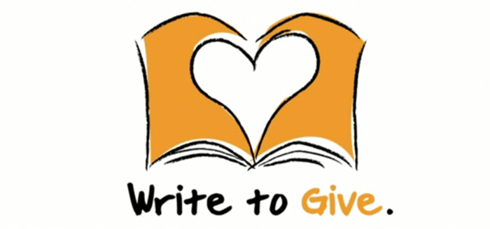 Write to Give–I Admire This Giving Model
